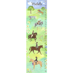 Horse Show Growth Chart