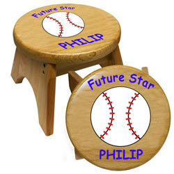 Future Baseball Star Stool