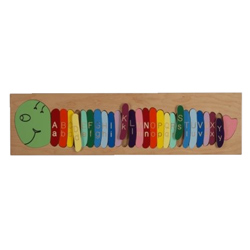 Number Worm Puzzle