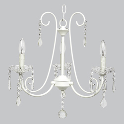 3 Arm Bliss Chandelier