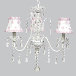 Petal Flower Jewel Chandelier