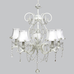 Pearl Burst Grace Chandelier
