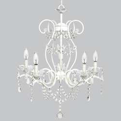 5 Arm Grace Chandelier