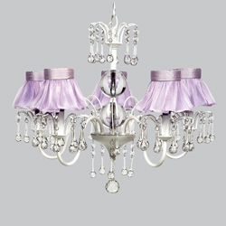 Ballerina Tutu 5 Arm Wistful Chandelier