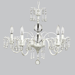 5 Arm Wistful Chandelier