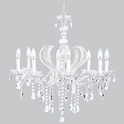 8 Arm Pageant Chandelier