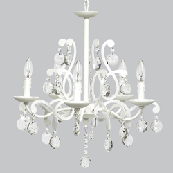 5 Arm Elegance Chandelier