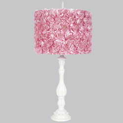 Rose Garden Lotus Lamp