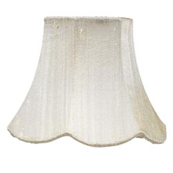 Squash Scallop Chandelier Shade
