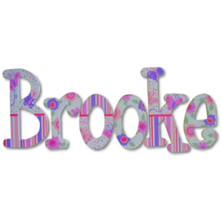 Brooke's Butterflies Wall Letters
