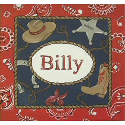 Billy the Kid Canvas Wall Art