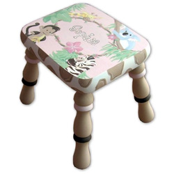 African Safari Step Stool