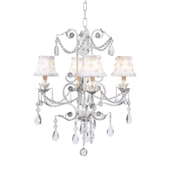 4 Arm Valentino Chandelier