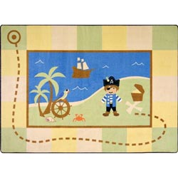 Lil' Pirate Rug