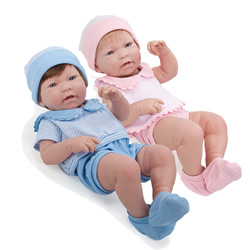 So Lifelike! Real Twin Baby Dolls