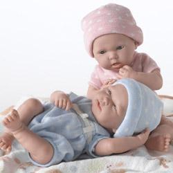 My Precious Twin Baby Dolls By Jc Toys