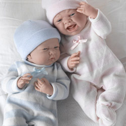 Cuddle Me Twin Baby Dolls