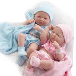 Real Newborn Baby Boy and Girl