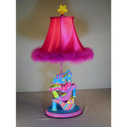 Girl Shoe Table Lamp