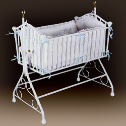 Regal Iron Cradle