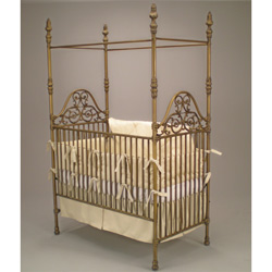 Opulence Iron Crib
