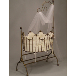 Sheer Beauty Cradle Bedding Set