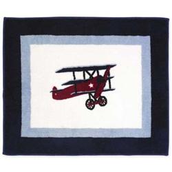Vintage Airplane Rug