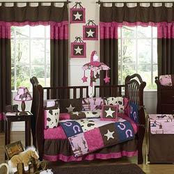 Cowgirl Crib Bedding Set