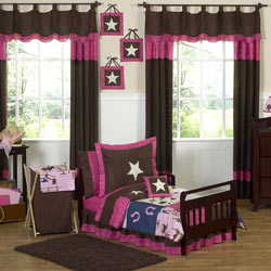 Cowgirl Toddler Bedding Set