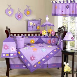 Daniella's Daisy Crib Bedding Set