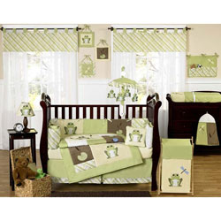 Leap Frog Crib Bedding Set