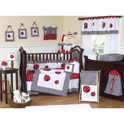 Little Ladybug Crib Bedding