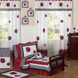 Little Ladybug Toddler Bedding Set