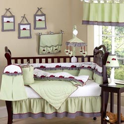 Ladybug Parade Crib Bedding Set