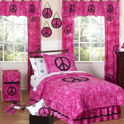 Peace Twin Bedding Set