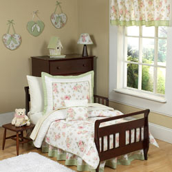 Riley's Roses Toddler Bedding Set
