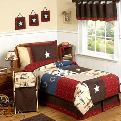 Wild West Twin Bedding