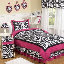 Zebra Twin/Full Bedding Set