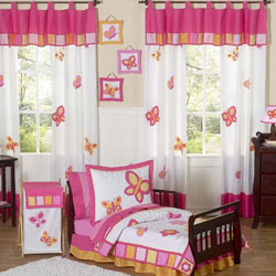 Dancing Butterfly Toddler Bedding