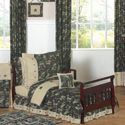 Camo Toddler Bedding