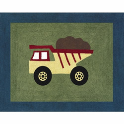 Construction Accent Rug
