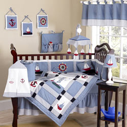 Come Sail Away Crib Bedding