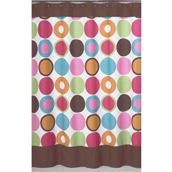 Deco Dot Shower Curtain