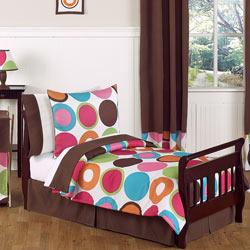 Deco Dot Toddler Bedding