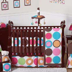 Deco Dot Crib Bedding