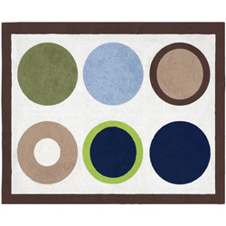 Designer Dot Floor Rug