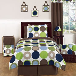 Designer Dot Twin/Full Bedding Collection