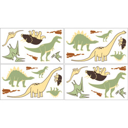 Dinosaur Land Wall Decal