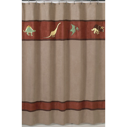 Dinosaur Land Shower Curtain