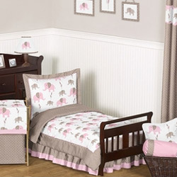 Elephant Toddler Bedding